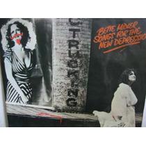 Lp Bette Midler Songs For The New Depression + Encarte