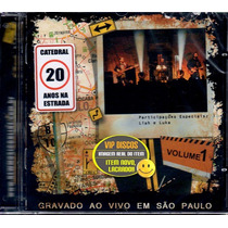 Cd Catedral 20 Anos Na Estrada Ao Vivo Kit Vol 1 E 2 - Novo