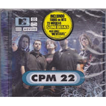 Cd Cpm 22 - Ao Vivo Mtv - Lacrado De Fábrica - Frete Grátis