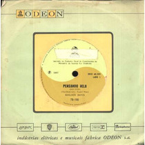 Golden Boys Compacto De Vinil Pensando Nela-1967-mono