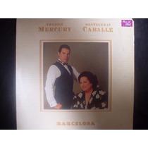 Lp Freddie Mercury Montserrat Caballe - Barcelona