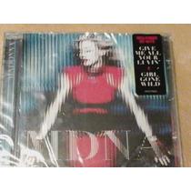 Cd Madonna Mdna 2012 Versão Cd Simples Novo Lacrado