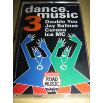Fita K7 Dance Music 3: Audio Car Road Music Vol.15 / Nova!