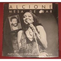 Lp Alcione - Single Promo - Mesa De Bar Com Gonzaguinha