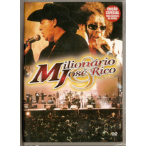 Dvd Milionário & José Rico - Levando A Vida - Novo***