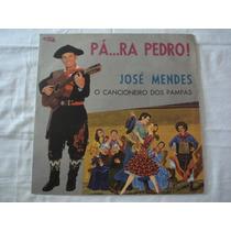 José Mendes-lp-vinil-para Pedro-mpb-gaúcho