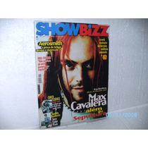 Revista Show Bizz Ano13 Nº3 Ed.140 Max Cavalera Aerosmith U2