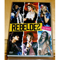 Dvd Rebeldes Ao Vivo - Record * Lacrado * Original