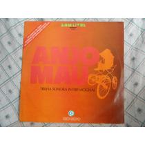 Lp Vinil - Novela Anjo Mau - Internacional - 1976