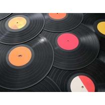 R/m - Lote 50 Disco Vinil Compacto Convite Arte Decoração