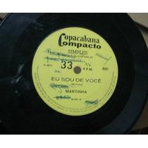 Vinil Compacto Martinha 1970 Frete Gratis
