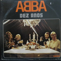 Lp Abba - Dez Anos - Vinil Raro