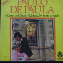 Paulo De Paula - Quarto De Mansãoi - Moi Compacto Vinil Raro