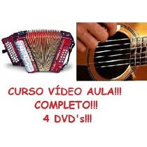 Aulas De Acordeon E Violão Em 4 Dvds Pague Com Mercado Pago