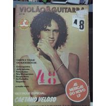Revista Violão E Guitarra Nº 74 Caetano Veloso Toquinho Fafá