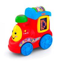 Brinquedo Musical Trem Do Alfabeto Aprender E Brincar Fisher