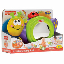 1-2-3 Caracol Musical Fisher Price Mattel