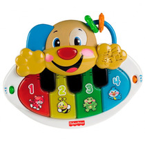 Piano Fisher Price Cachorrinho Aprender E Brincar Y9853