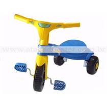 Tico Cliclete Azul Velotrol Triciclo Magic Toys