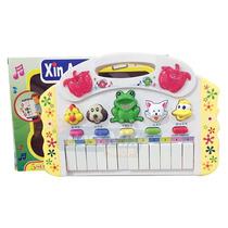 Piano Teclado Infantil Musical Sons Animais Sítio Eletrônico