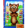 Tablet Infantil Gato Tom Inteligente Repete Fala 3d - Off!
