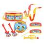 Kit Toda Banda Instrumentos Musicais Brinquedo Beeme Toys