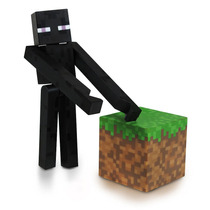 Minecraft Mini Figuras Colecionáveis Jazware * Core Enderman