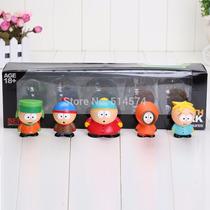 South Park Caixa 5 Bonecos Cartman Marsh Broflovski - B01