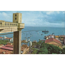 25852 - Postal Salvador, Ba - Vista Parcial Do Porto