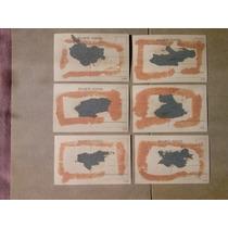 6 Cartoes Postais De Salvador / Bahia