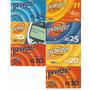 7 Cartões Telefônicos - Pré-pago - Tim