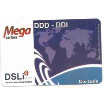 5976 Dsli Vox3 (novo) Mega Cartões Cortesia - S/fab 6 Meses