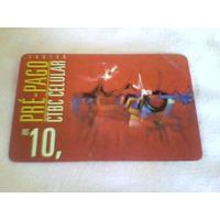 272 - Cartão Ctbc Celular - 10,00 Reais