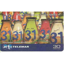 5852 Cartões Telefônicos 5 Tarjinhas Diferentes Ver Texto