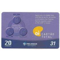 5917 Cartões Telefônicos 5 Tarjinhas Diferentes Ver Texto