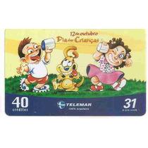 5925 Cartões Telefônicos 5 Tarjinhas Diferentes Ver Texto