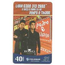 5872 Cartões Telefônicos 5 Tarjinhas Diferentes Ver Texto