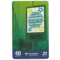 5880 Cartões Telefônicos 5 Tarjinhas Diferentes Ver Texto