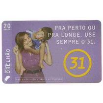 5934 Cartões Telefônicos 5 Tarjinhas Diferentes Ver Texto