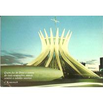 Cartão Postal - Brasília - Df - Coleção Pensamentos
