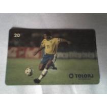 Cartão Do Romário , Com A Camisa Seleção Brasileira