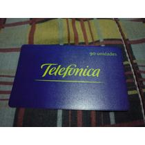 Cartao Da Telefonica 11/98 Ediçao Comemorativa S.limitada