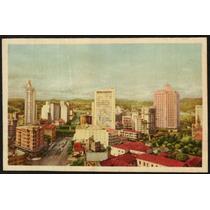 Cartão Postal Antigo Belo Horizonte Mg Centro Comercial