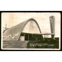 Cartão Postal Antigo Belo Horizonte Mg Igreja Pampulha