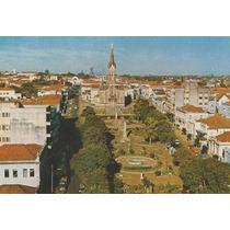 16600 - Postal Uberaba, M G - Praça Rui Barbosa E Catedral