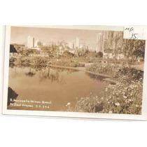 Ml-0973 Cartão Foto Postal Antigo - Belo Horizonte Mg 1958