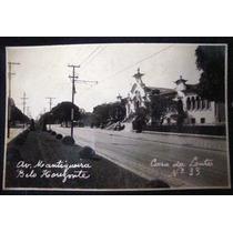 Cartão Postal Antigo Belo Horizonte Av.mantiqueira