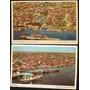 02 Cartão Postal Antigo Manaus Am Porto Flutuante 1