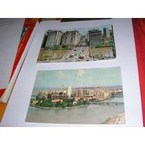 2 Cartões Postais Recife - Déc. 60
