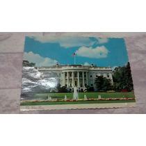 Antigo Cartão Postal Casa Branca Eua